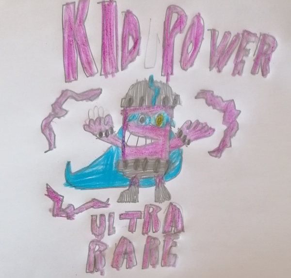 Kid Power ultra raro superzings serie 6 dibujado por TEO
